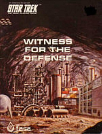 Star Trek RPG 1st Edition (FASA): Witness for the Defense - Used