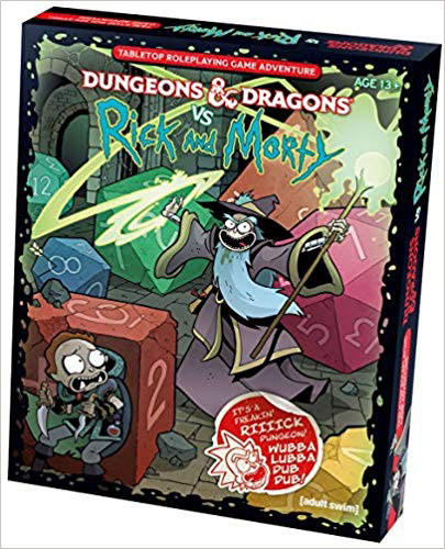 Dungeons and Dragons 5th Ed: Vs. Rick and Morty Adventure Boxed Set