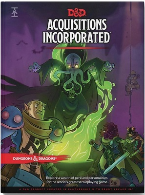Dungeons and Dragons 5th Ed: Acquisitions Incorporated HC - Used