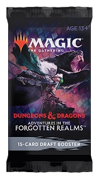 Magic the Gathering: Adventures in the Forgotten Realms Draft Booster Pack