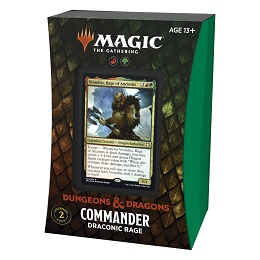 Magic the Gathering: Adventures in the Forgotten Realms: Draconic Rage Commander Deck