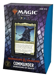 Magic the Gathering: Adventures in the Forgotten Realms: Dungeons of Death Commander Deck