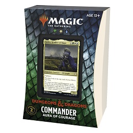 Magic the Gathering: Adventures in the Forgotten Realms: Aura of Courage Commander Deck