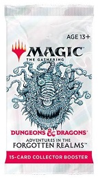 Magic the Gathering: Adventures in the Forgotten Realms Collectors Booster Pack