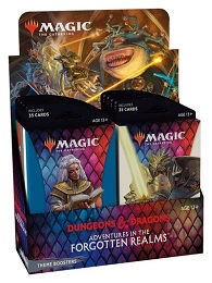 Magic the Gathering: Adventures in the Forgotten Realms Theme Boosters