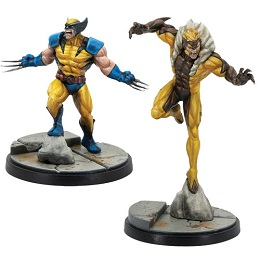 Marvel Crisis Protocol: Wolverine and Sabretooth Character Pack