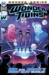 Wonder Twins no. 9 (9 of 12) (2019 Series)
