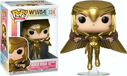 Funko POP: Heroes: Wonder Woman 1984: Wonder Woman Gold Flying