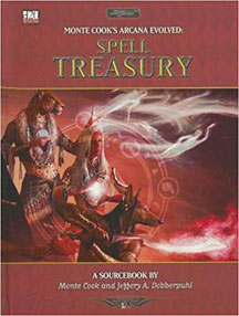 D20: Monte Cook's Arcana Evolved: Spell Treasury HC - USED
