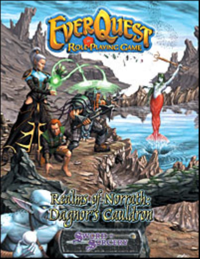 EverQuest Role Playing Game: Realms of Norrath: Dagnor's Cauldron - Used