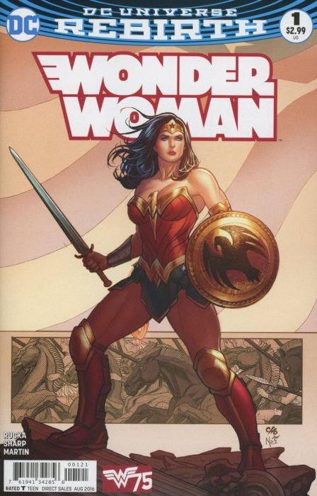 Wonder Woman (2016) no. 1 Variant B - Used