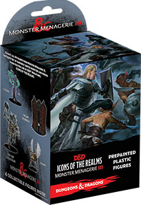 Dungeons and Dragons: Icons of the Realms: Monster Menagerie 3 Booster