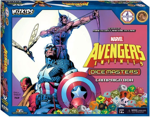Marvel Dice Masters: Avengers Infinity Campaign Box 73126