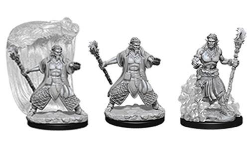 Dungeons and Dragons Nolzurs Marvelous Unpainted Minis: Water Genasi Male Druid