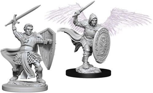 Dungeons and Dragons Nolzurs Marvelous Unpainted Minis: Aasimar Male Paladin