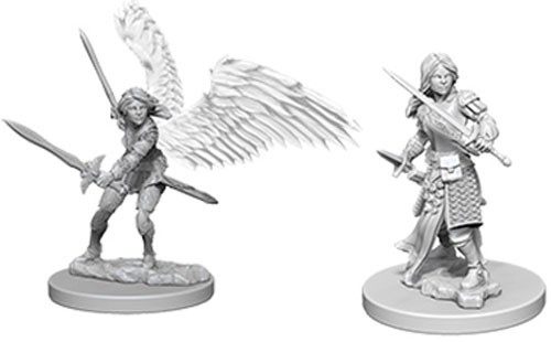 Dungeons and Dragons Nolzurs Marvelous Unpainted Minis: Aasimar Female Paladin
