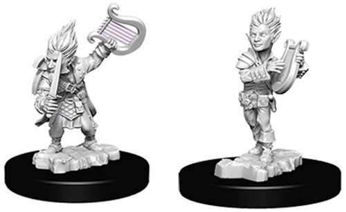 Pathfinder Deep Cuts Unpainted Minis: Gnome Male Bard