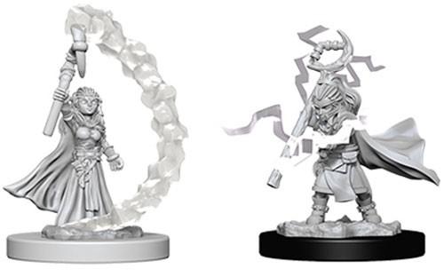 Pathfinder Deep Cuts Unpainted Minis: Gnome Female Sorcerer