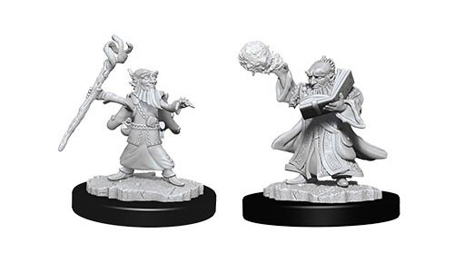 Dungeons and Dragons Nolzurs Marvelous Unpainted Minis: Male Gnome Wizard W6