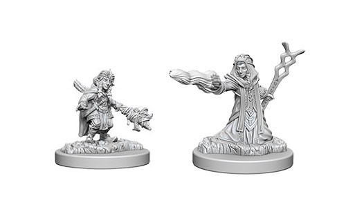 Dungeons and Dragons Nolzurs Marvelous Unpainted Minis: Female Gnome Wizard W6
