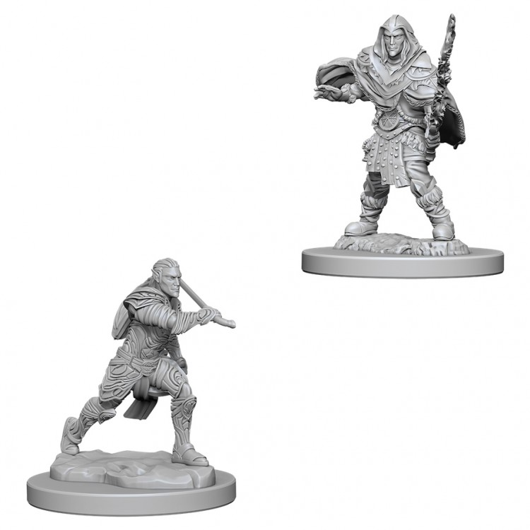 Dungeons and Dragons Nolzurs Marvelous Unpainted Minis: Male Elf Fighter W6