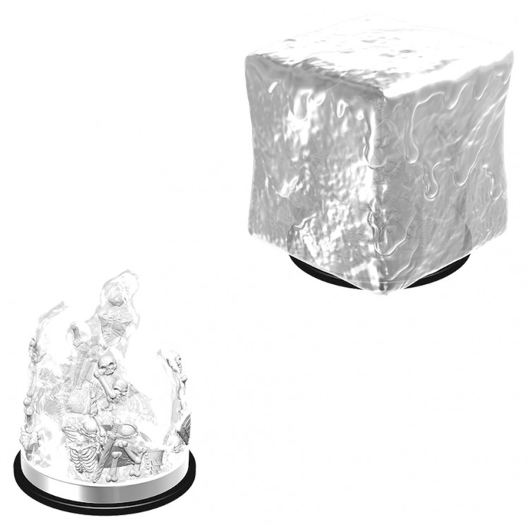 Dungeons and Dragons Nolzurs Marvelous Unpainted Minis: Gelatinous Cube W6