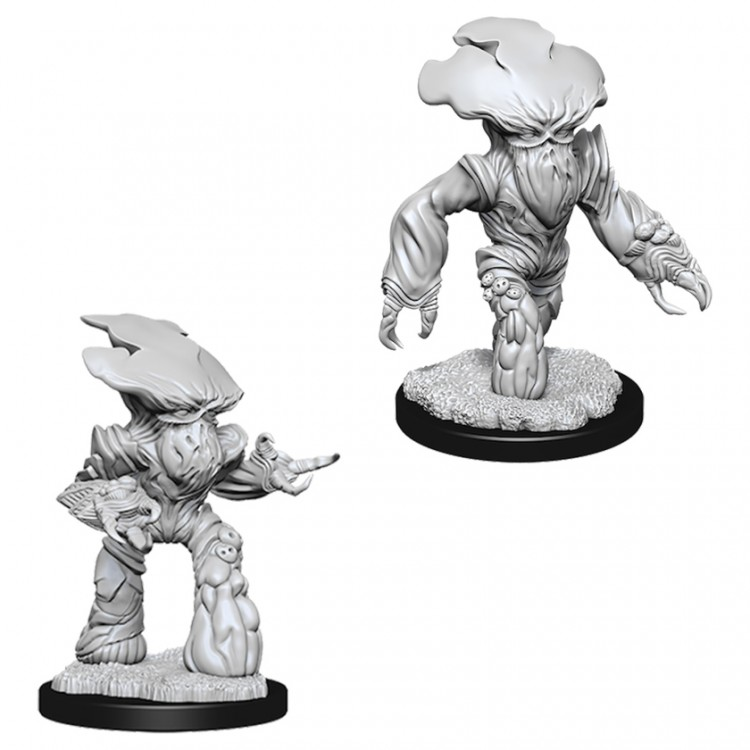 Dungeons and Dragons Nolzurs Marvelous Unpainted Minis: Myconid Adults W6