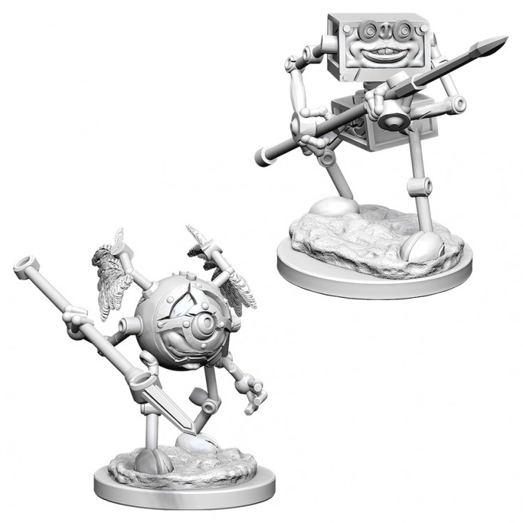 Dungeons and Dragons Nolzurs Marvelous Unpainted Minis: Monodrone and Duodrone W6