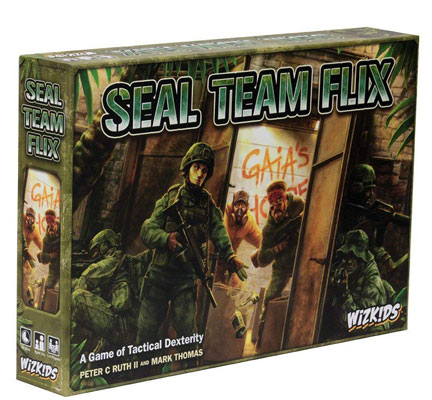 Seal Team Flix Board Game