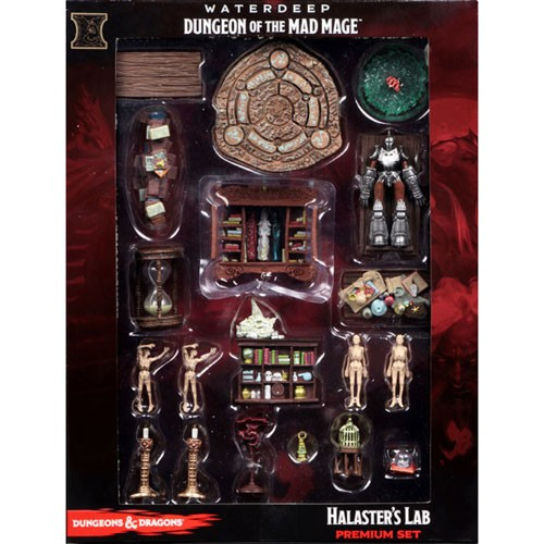 Dungeons and Dragons: Waterdeep: Dungeon of the Mad Mage: Halaster's Lab Premium Set