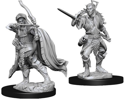 Dungeons and Dragons Nolzurs Marvelous Unpainted Minis: Male Elf Rouge