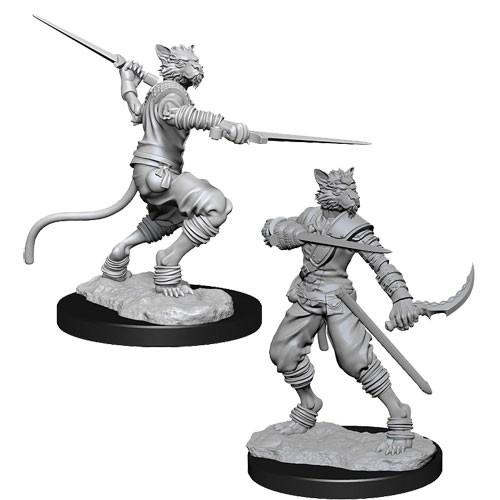 Dungeons and Dragons Nolzurs Marvelous Unpainted Minis: Male Tabaxi Rogue