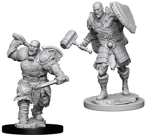 Dungeons and Dragons Nolzurs Marvelous Unpainted Minis: Male Goliath Fighter