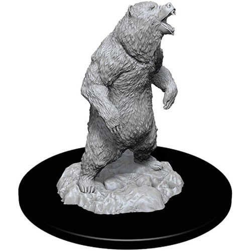 Pathfinder Deep Cuts Unpainted Minis: Grizzly