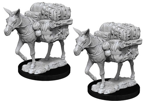 Pathfinder Deep Cuts Unpainted Minis: Pack Mule