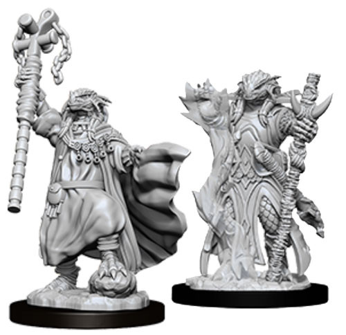 Dungeons and Dragons: Nolzur's Marvelous Unpainted Miniatures: Female Dragonborn Sorcerer