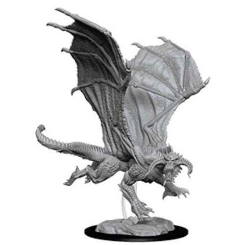 Dungeons and Dragons: Nolzur's Marvelous Unpainted Miniatures: Young Black Dragon