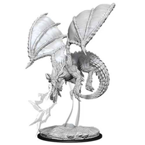 Dungeons and Dragons: Nolzur's Marvelous Unpainted Miniature: Young Blue Dragon
