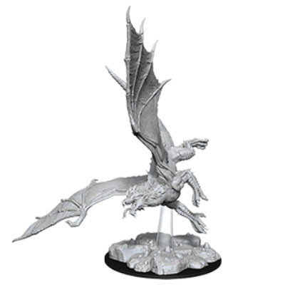 Dungeons and Dragons: Nolzur's Marvelous Unpainted Miniatures: Young Green Dragon