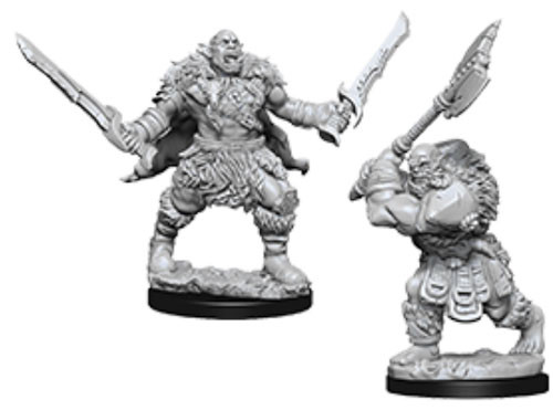 Pathfinder Battles Deep Cuts Unpainted Miniatures: Orcs