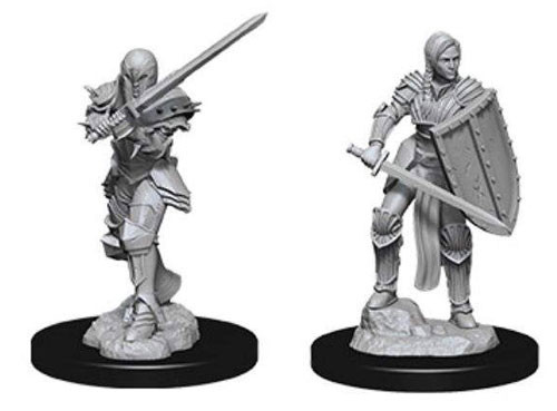 Dungeons and Dragons Nolzurs Marvelous Unpainted Minis: Female Human Fighter W9