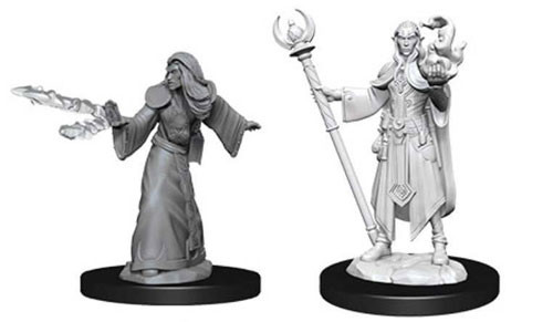 Dungeons and Dragons Nolzurs Marvelous Unpainted Minis: Male Elf Wizard W9