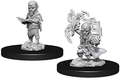Pathfinder Battles Deep Cuts Unpainted Miniatures: Male Gnome Sorcerer
