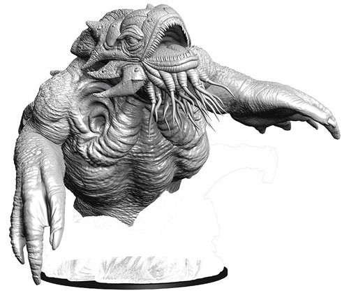 Dungeons and Dragons Nolzurs Marvelous Unpainted Minis: Kraken W9