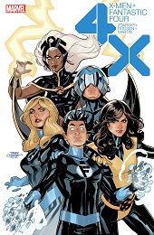 X-Men Fantastic Four no. 1 Poster