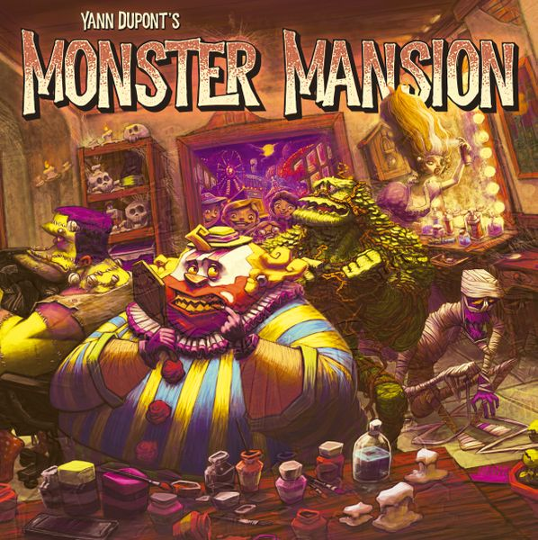 Yann Dupont's Monster Mansion Board Game
