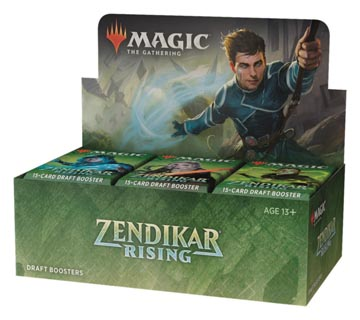 Magic the Gathering: Zendikar Rising Booster Box (36 packs)