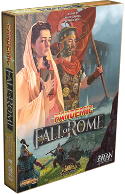 Pandemic: The Fall of Rome (Stand Alone) Board Game